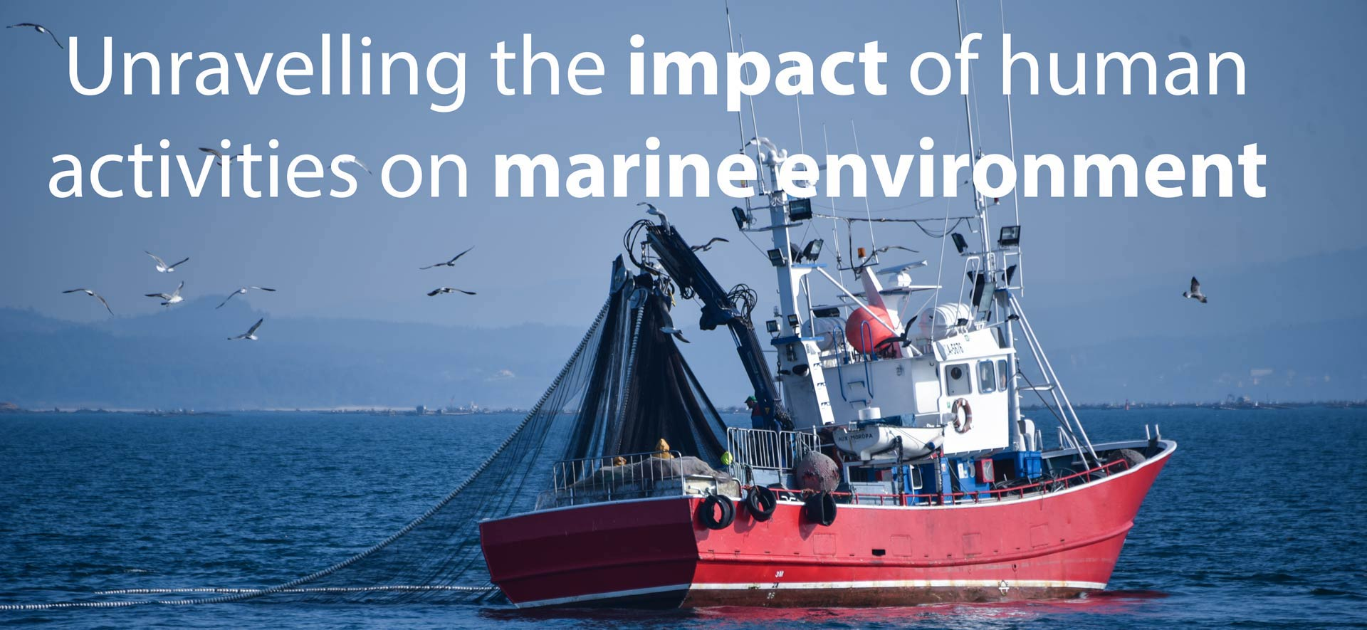 Impact of human activities on marine environment